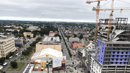 Two bending cranes felled 'exactly' in the role of planned