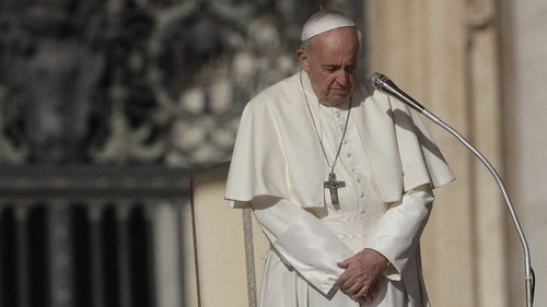 Pope Francis accepts resignation of a NYC bishop accused pointing to abuse
