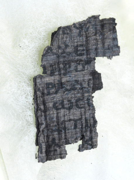Try and 'virtually unwrap' ancient scrolls buried by Vesuvius