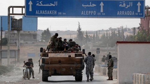 10 dead in blast near Turkish-held Syrian town
