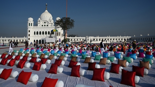 Indian Sikhs not to mention historic pilgrimage to Pakistan