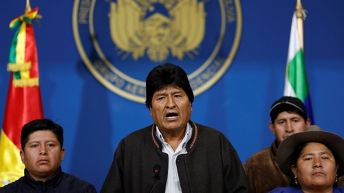 Bolivia's Morales calls for new polls after OAS audit