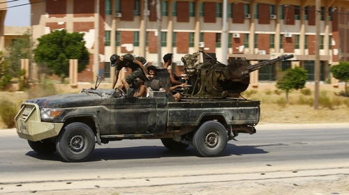 Clashes reported in Libya simply because sides reject diplomacy