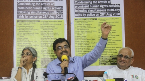 Indian activists, lawyers accuse government of spying on them